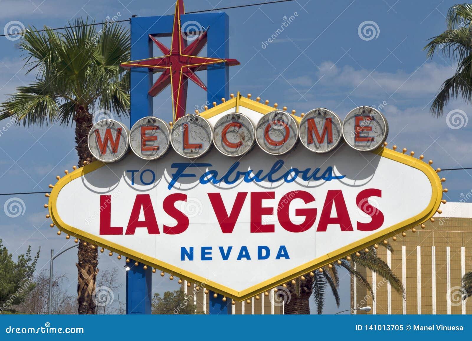 Bienvenue au signe fabuleux de Las Vegas