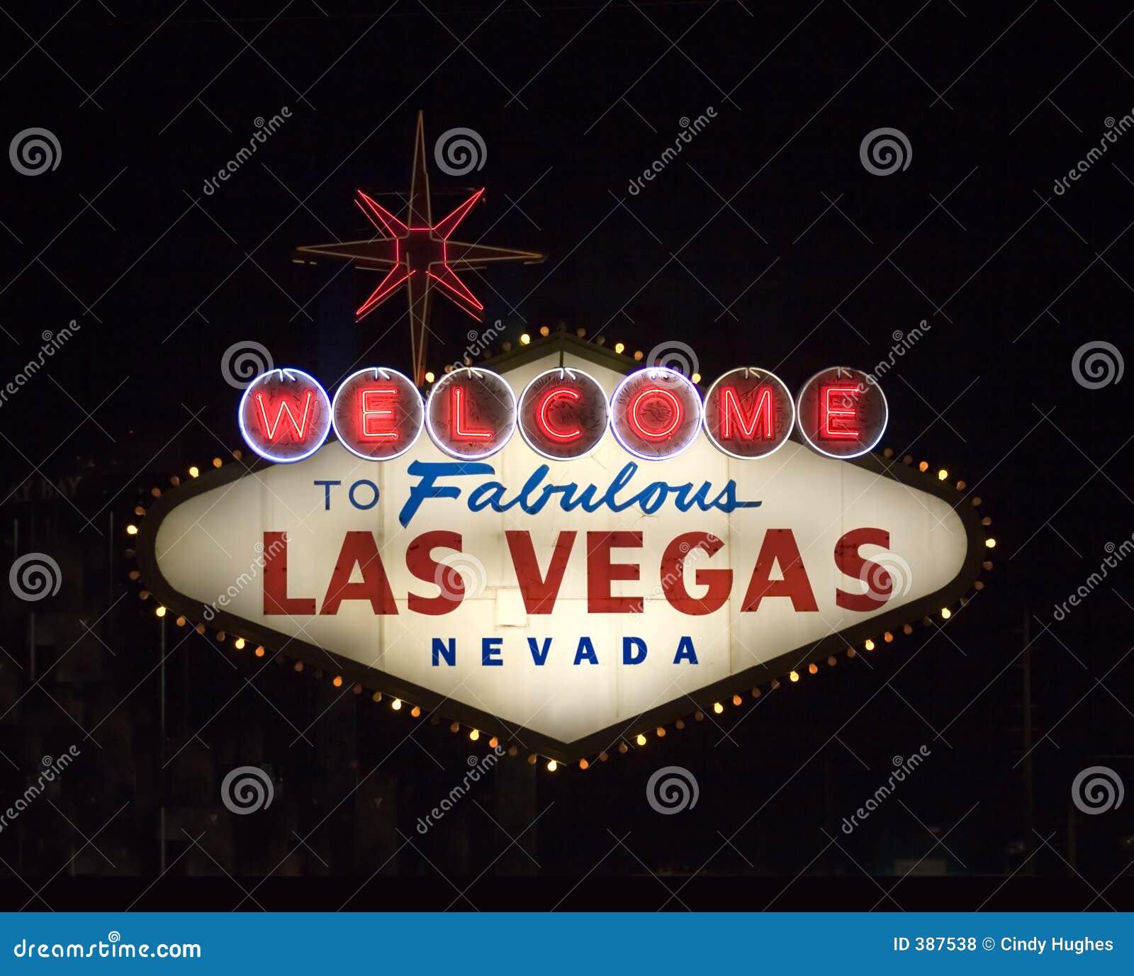 Bienvenue vers Las Vegas