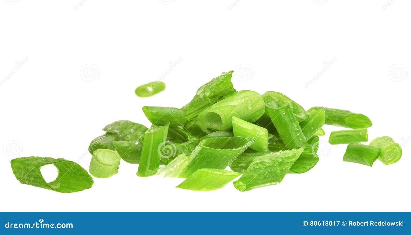 Bieslook De groene ui van de besnoeiing