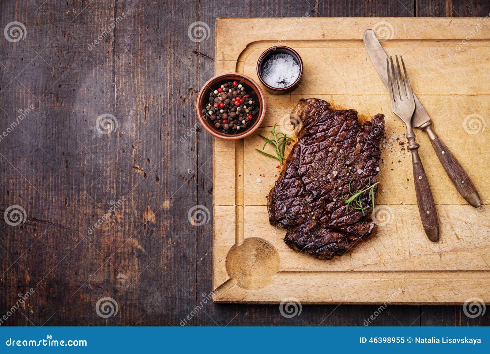 Bife grelhado do ribeye