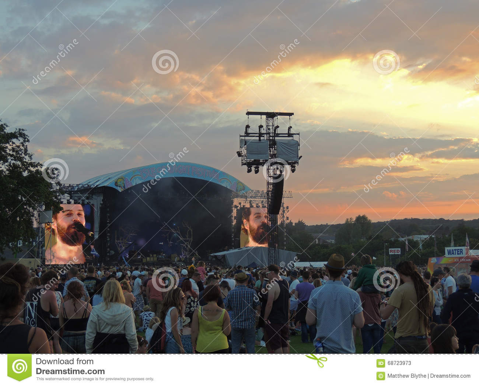 Biffy Clyro στο φεστιβάλ του Isle of Wight