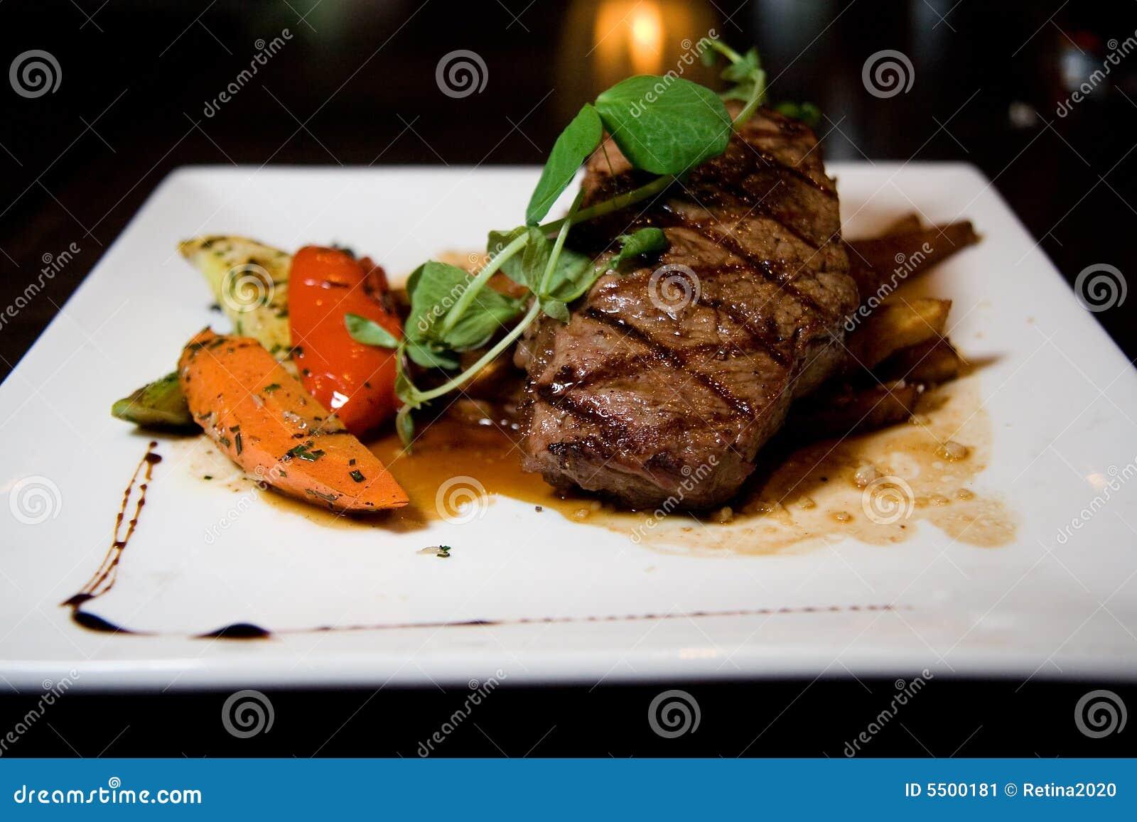Bifteck juteux d Angus