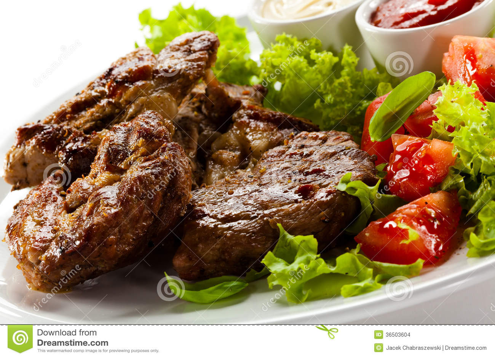 Bifteks grillés