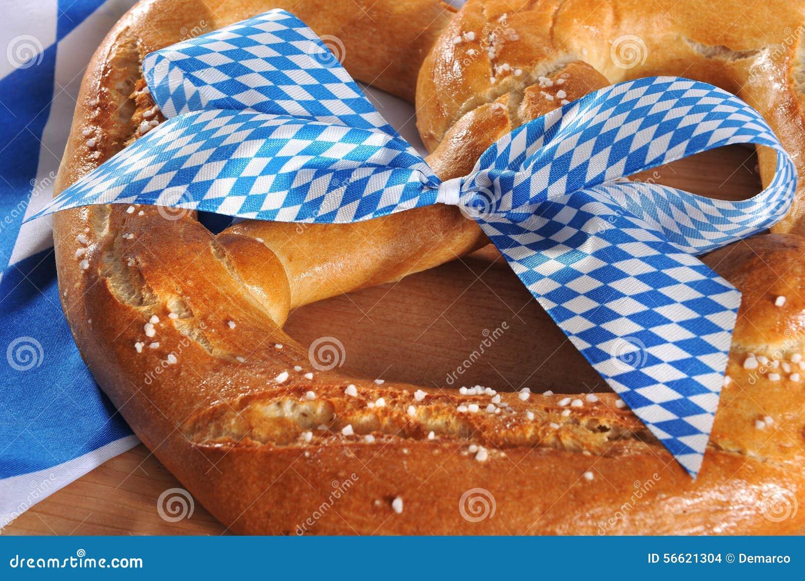 Big Bavarian Oktoberfest soft pretzel