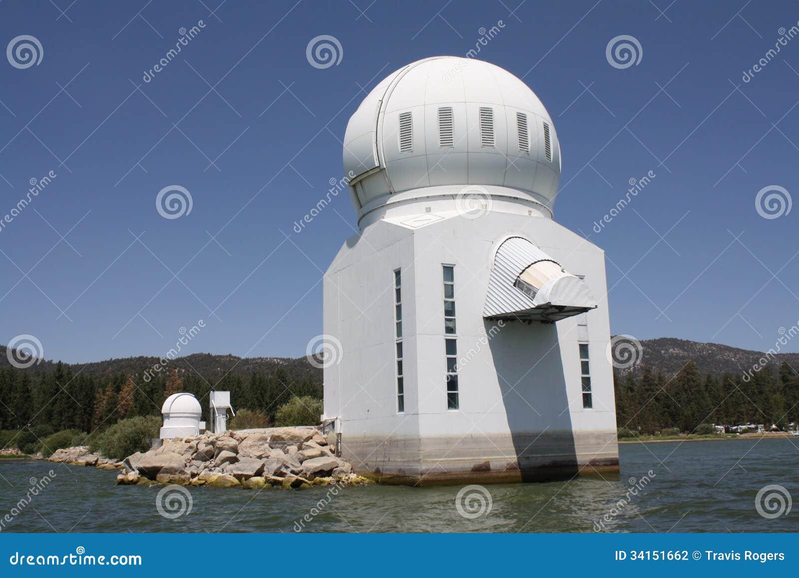Big Bear Solar Observatory stock photo. Image of green ...