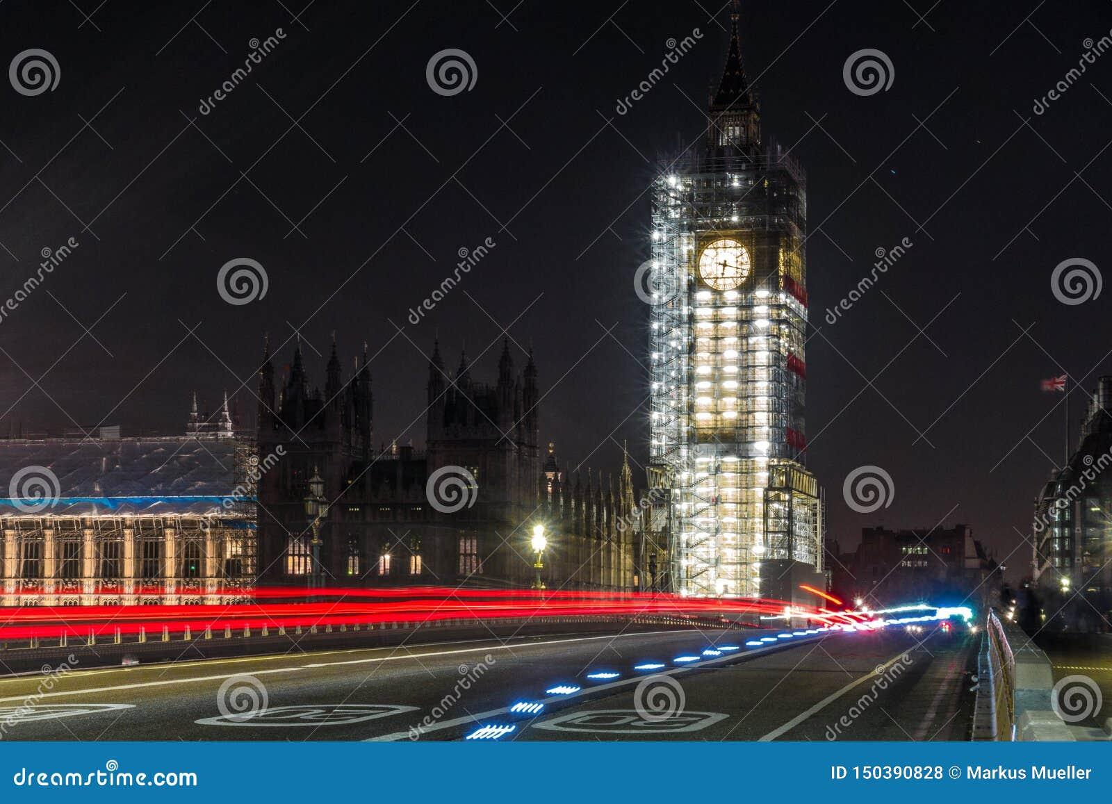 Big Ben τη νύχτα