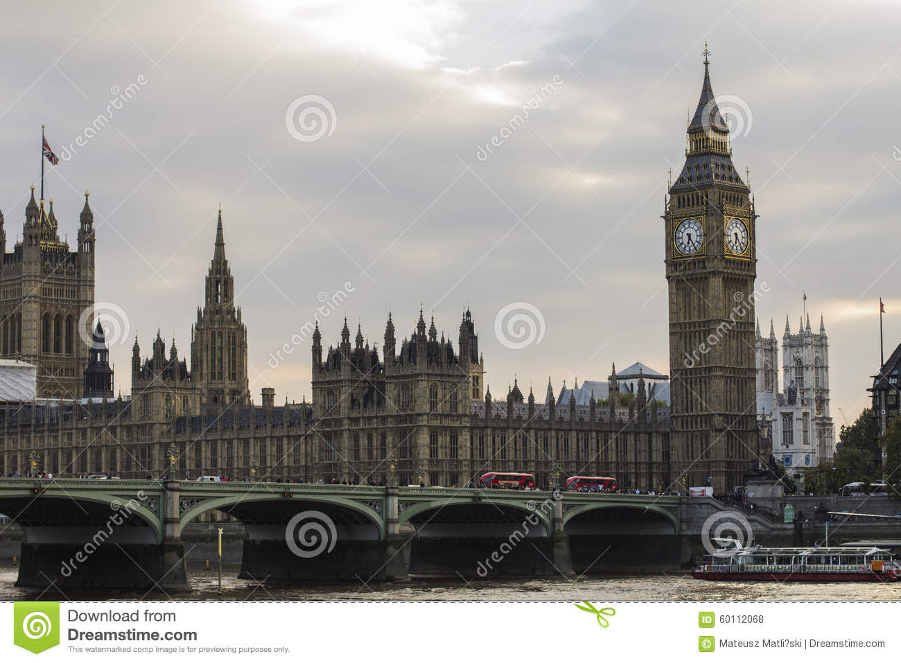 Big Ben And House Of Parliament Stock Photo Image Of Mirror House