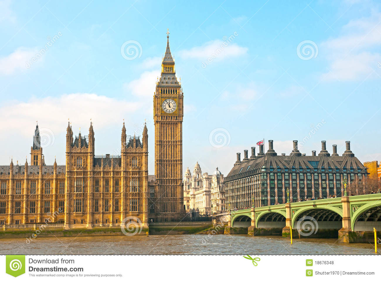 Big Ben And Houses Of Parliament Royalty Free Stock Photos - Image ...