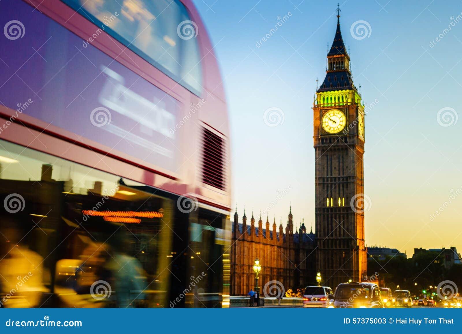 Big Ben, Londen, Engeland, het UK