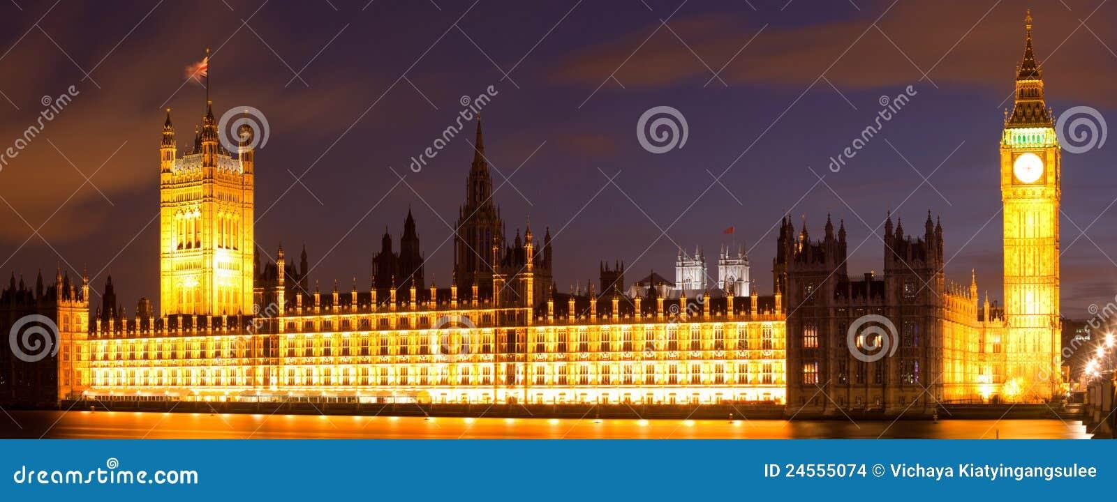 Big Ben London Panorama