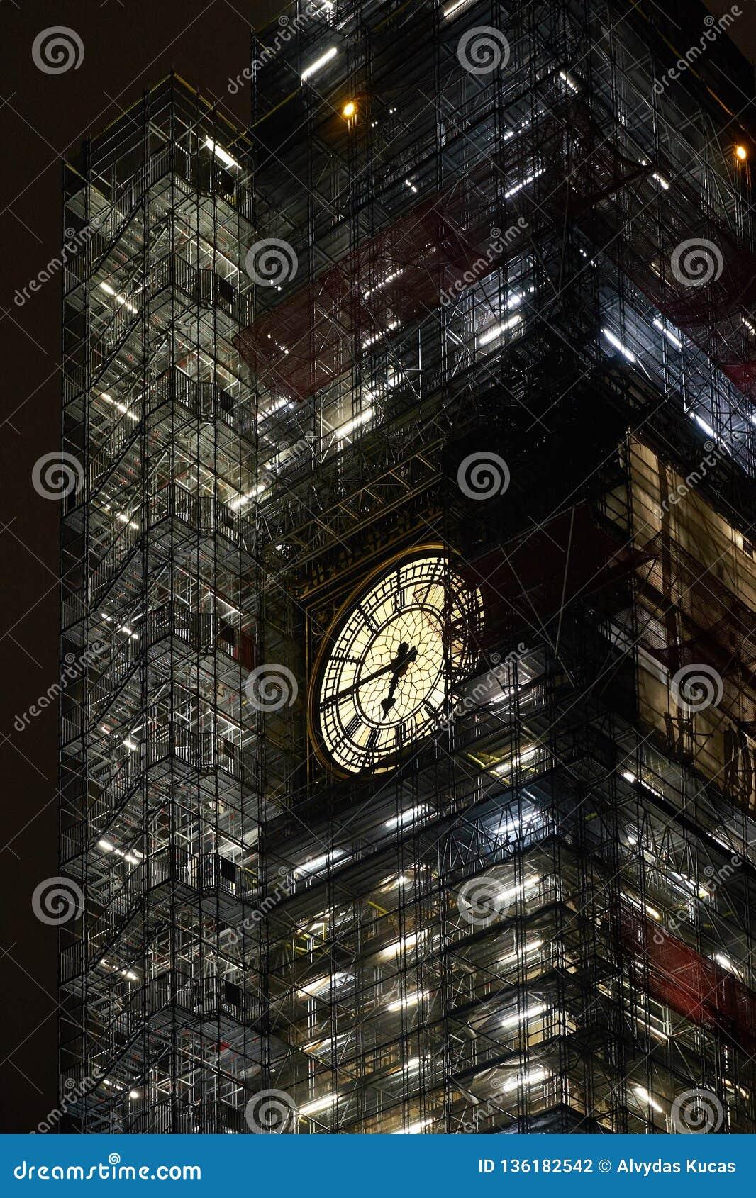 Big Ben naprawa w Londyn