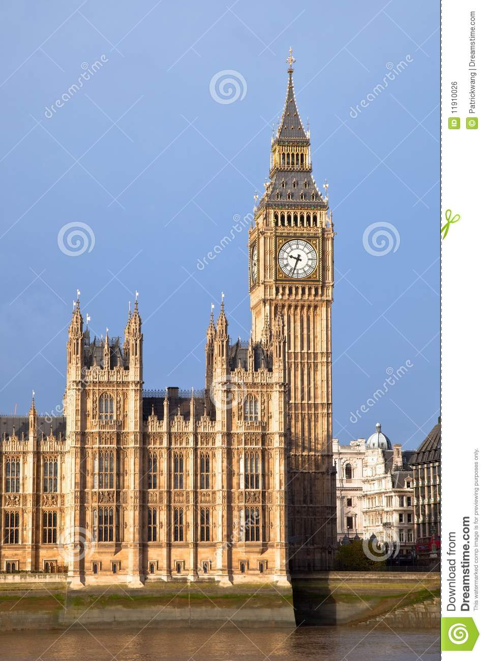 Big Ben Tower Royalty Free Stock Image - Image: 11910026