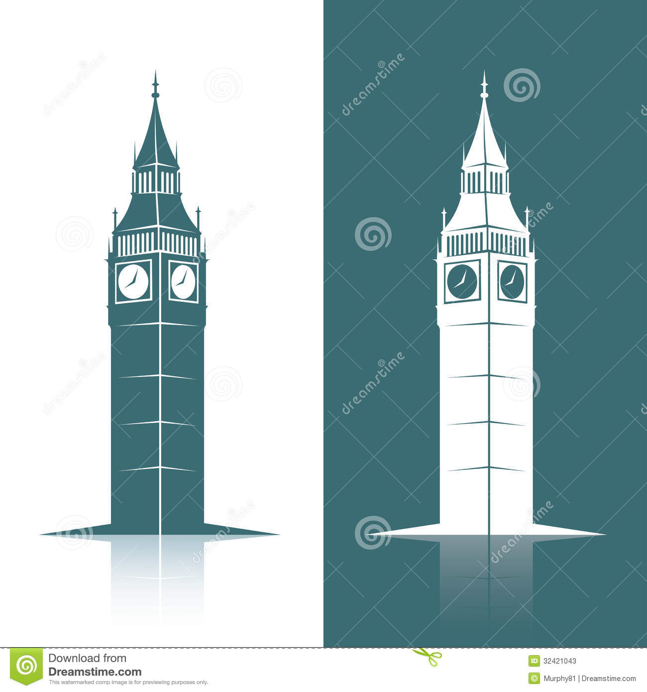 Stock Photos Big Ben Vector Illustration Image32421043 on tower bridge cartoon