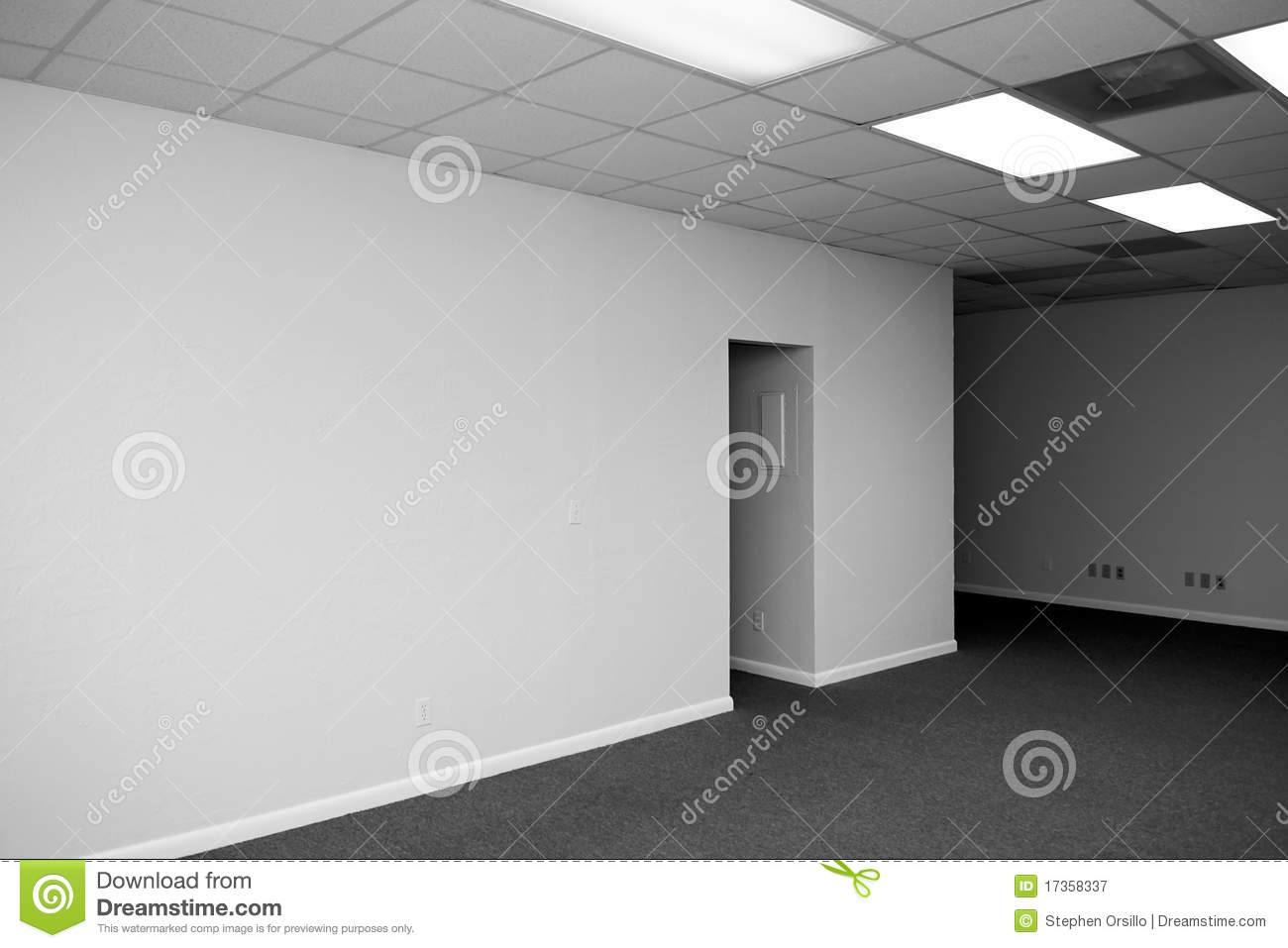 Big blank wall stock image image of interior vacant for What to do with a blank wall