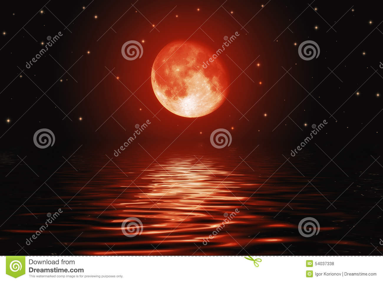 big red moon dream meaning - photo #5