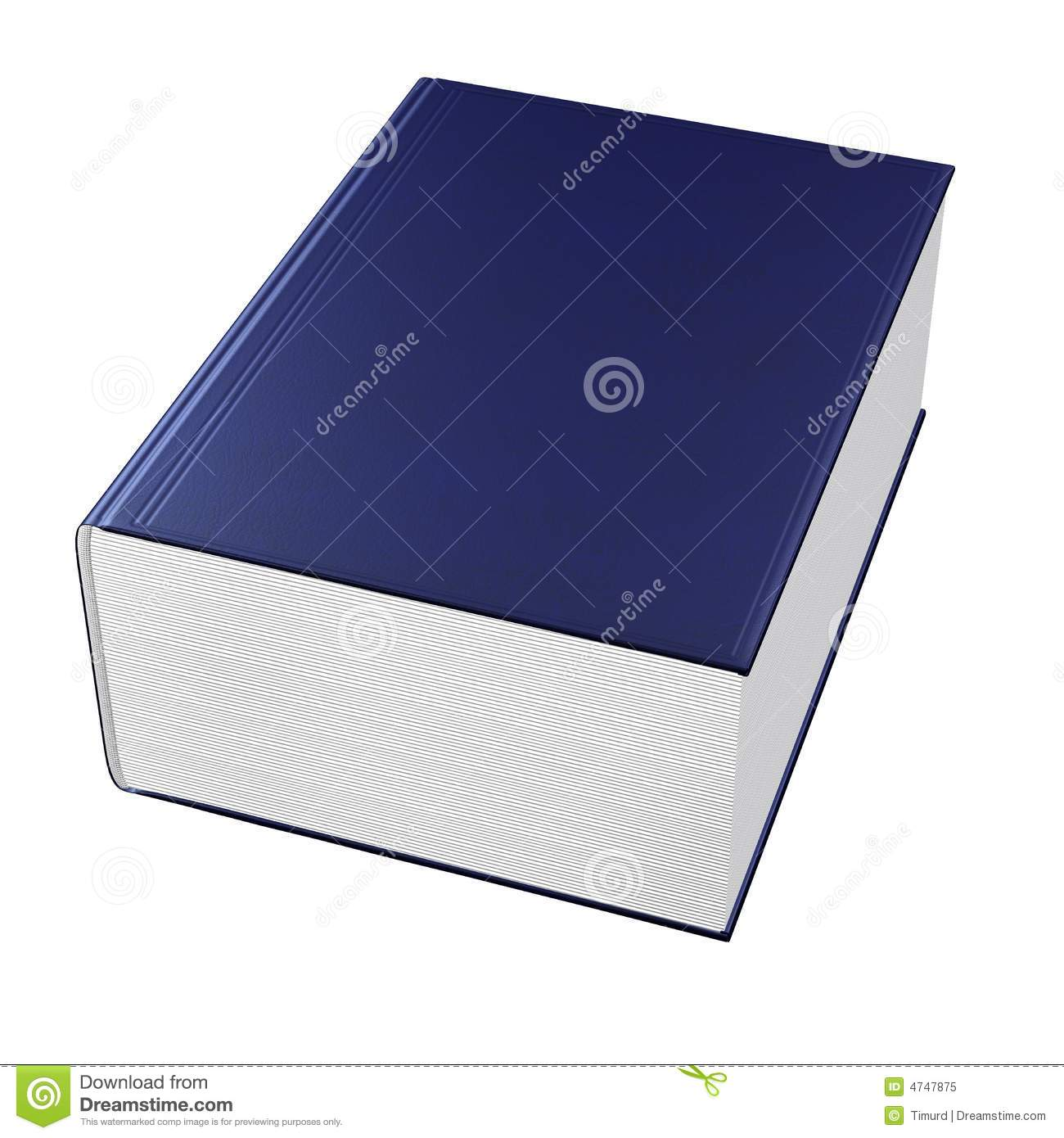 Big Book Royalty Free Stock Photo - Image: 4747875