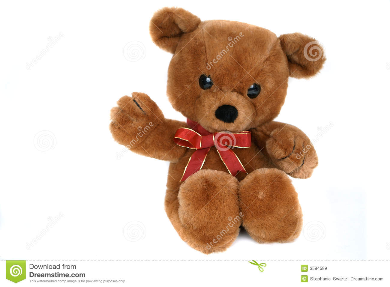 Big brown teddy bear stock image. Image of teddy, fluffly ...