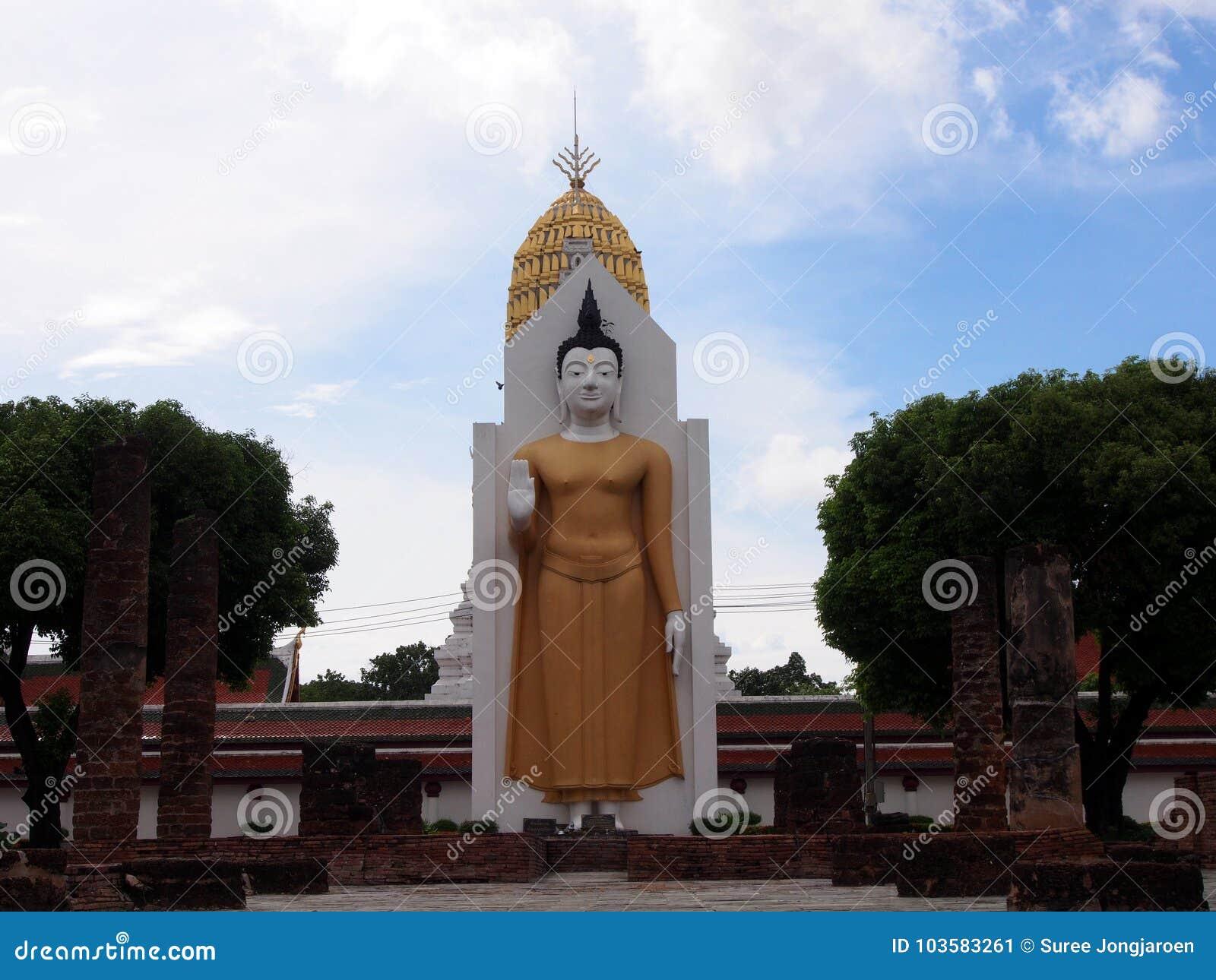 The Buddha in Phisanulok,Thailand