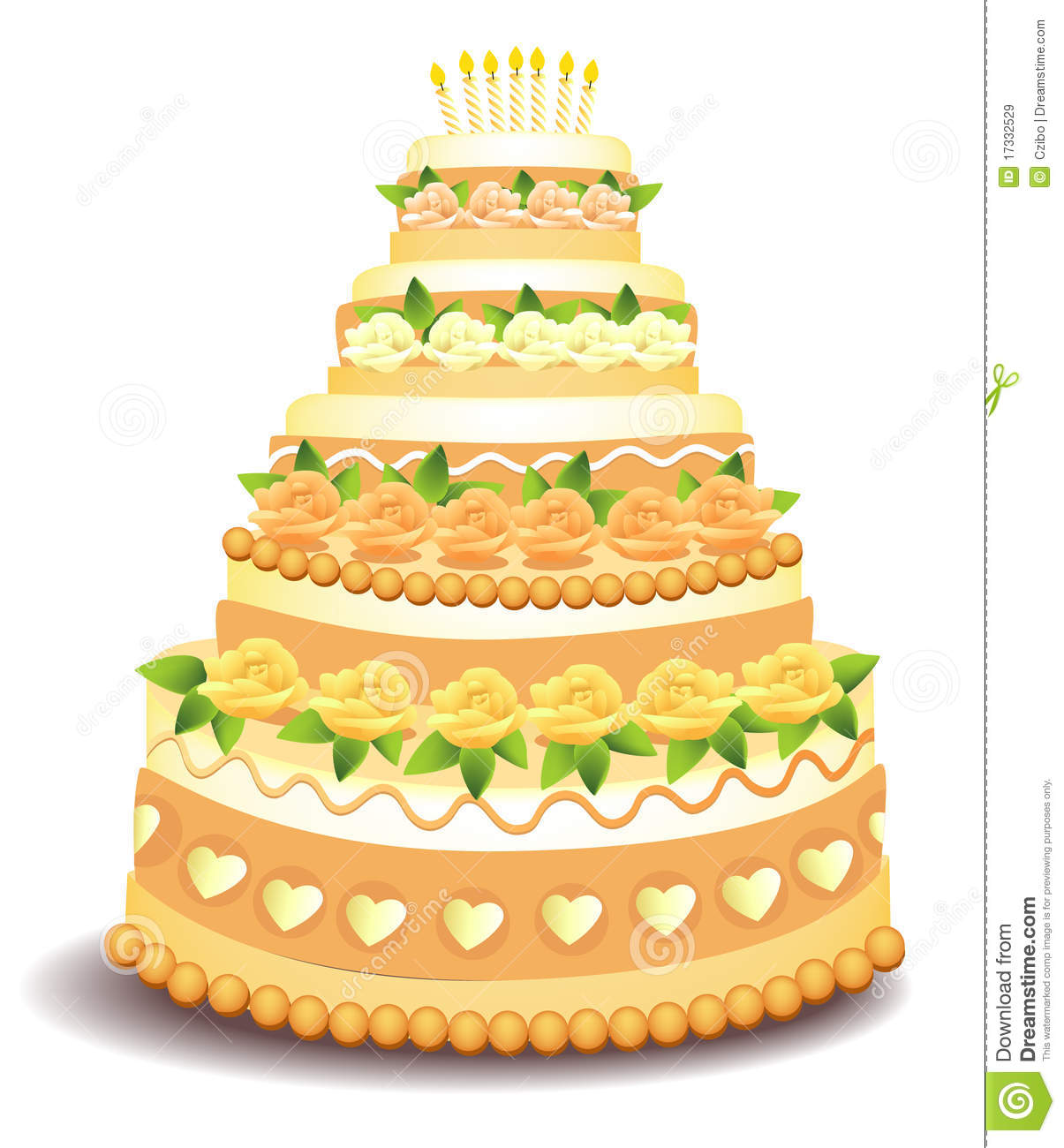 Big Cake Royalty Free Stock Images - Image: 17332529