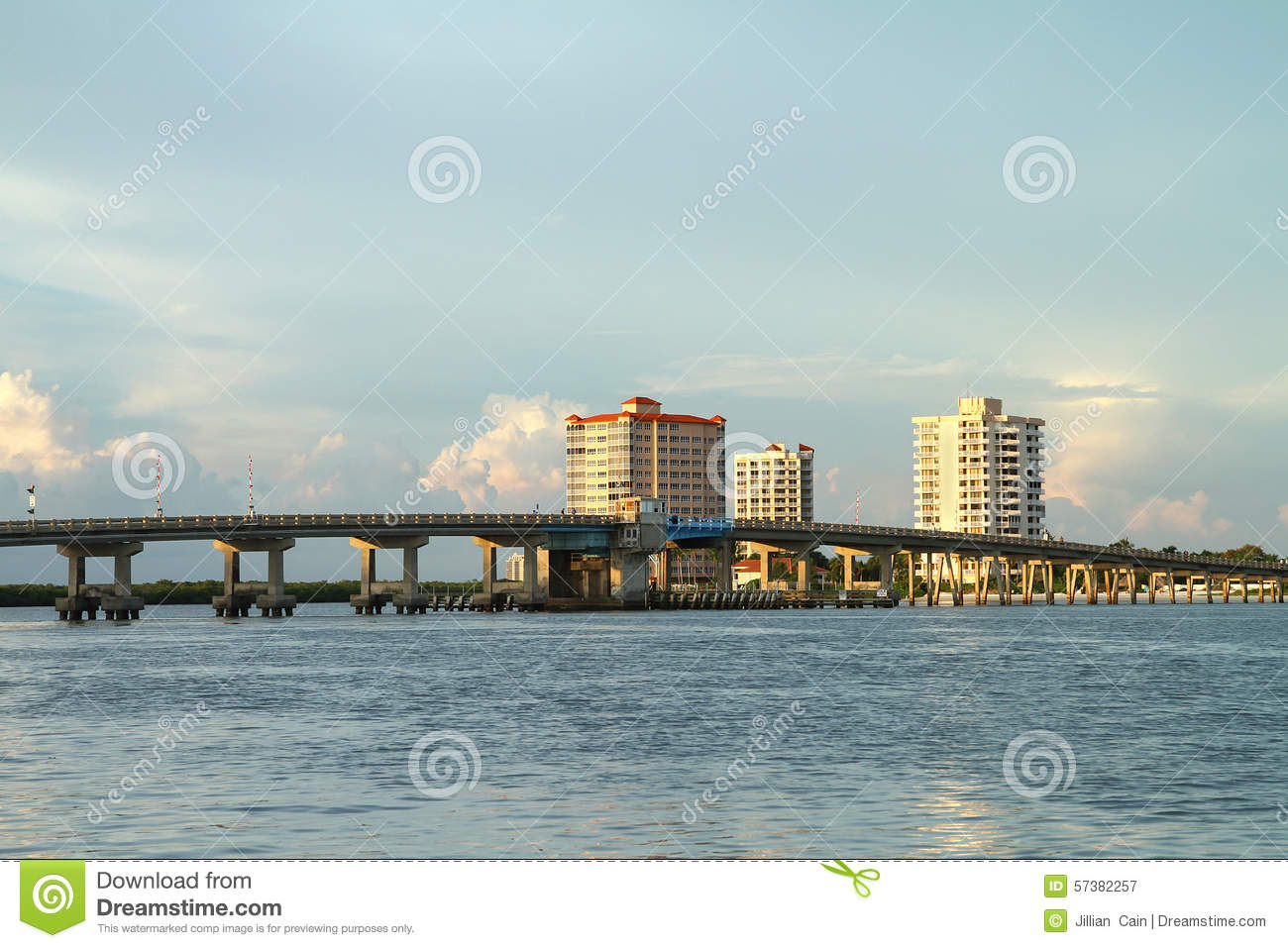 Big Carlos Pass Bridge in Fort Myers Beach, Florida, USA
