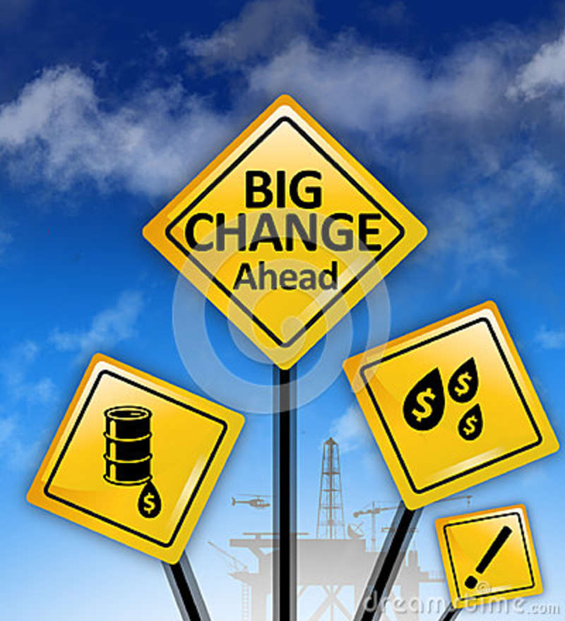 Big changes ahead signs