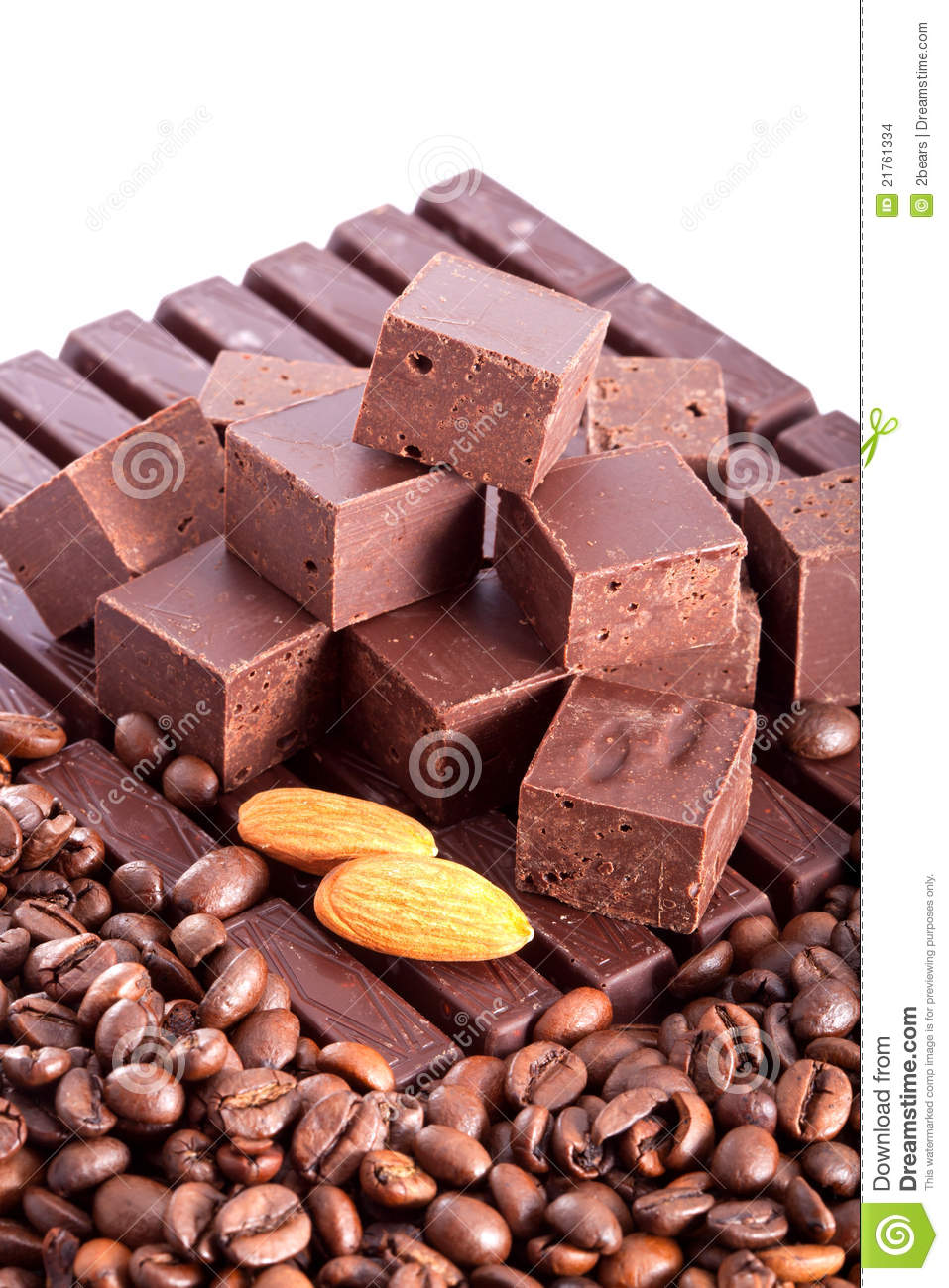 The Big Chocolate Bar Stock Images - Image: 21761334