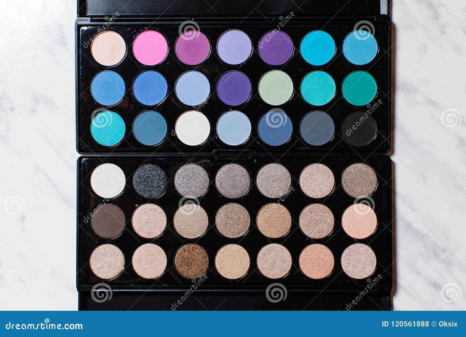 Big Of Choice For Stylish Makeup Stock Photo Image Of
