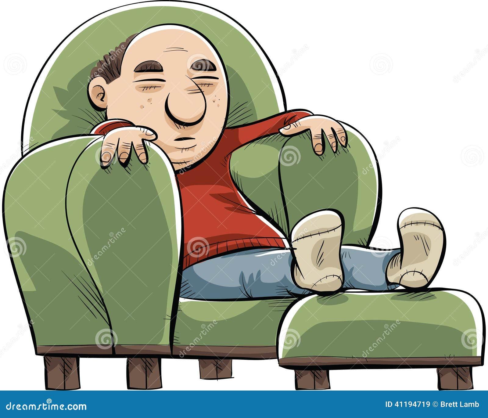 Big Comfortable Chair Stock Illustration Image 41194719