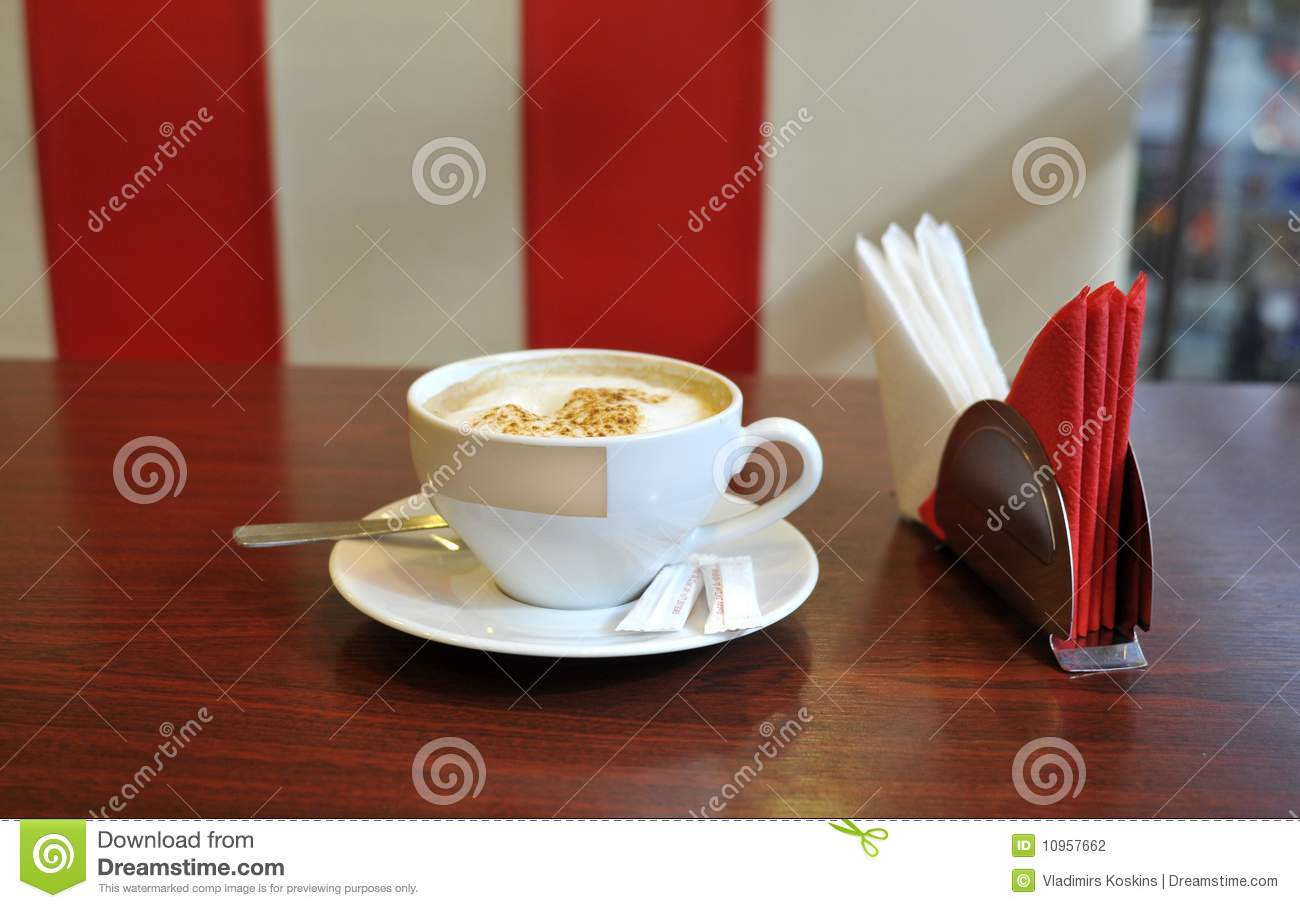the big cup of coffee stock photography image 10957662. Black Bedroom Furniture Sets. Home Design Ideas
