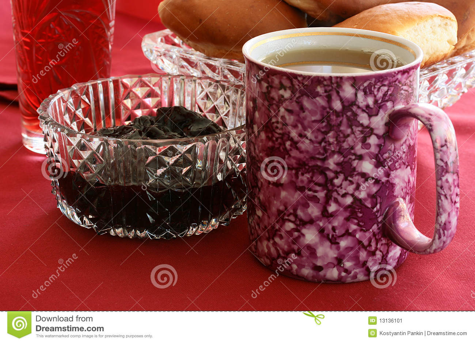 Big Cup Of Tea Stock Image Image 13136101