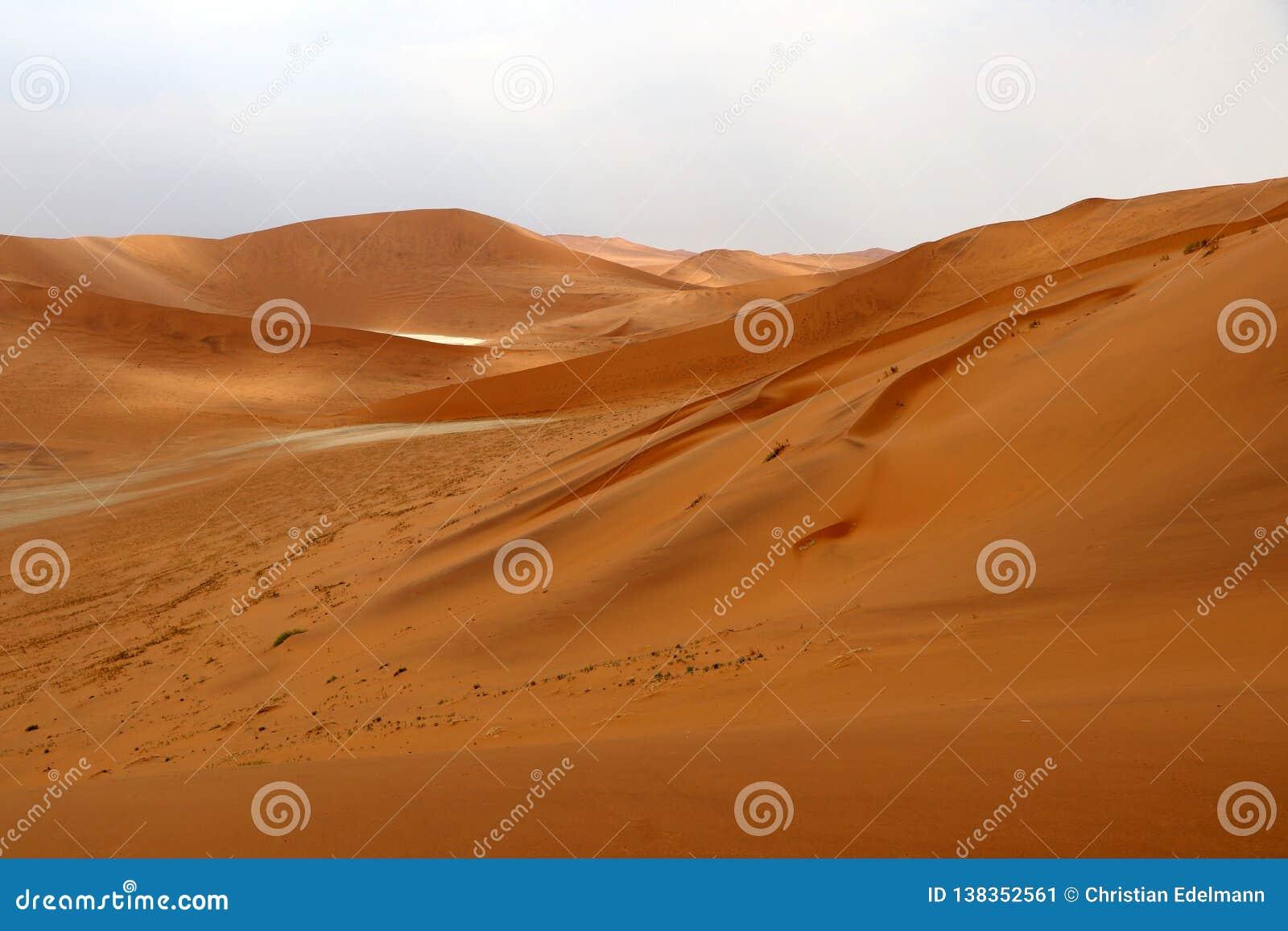 Big Daddy Sand Dune Sossusvlei Namibia Africa Stock Image