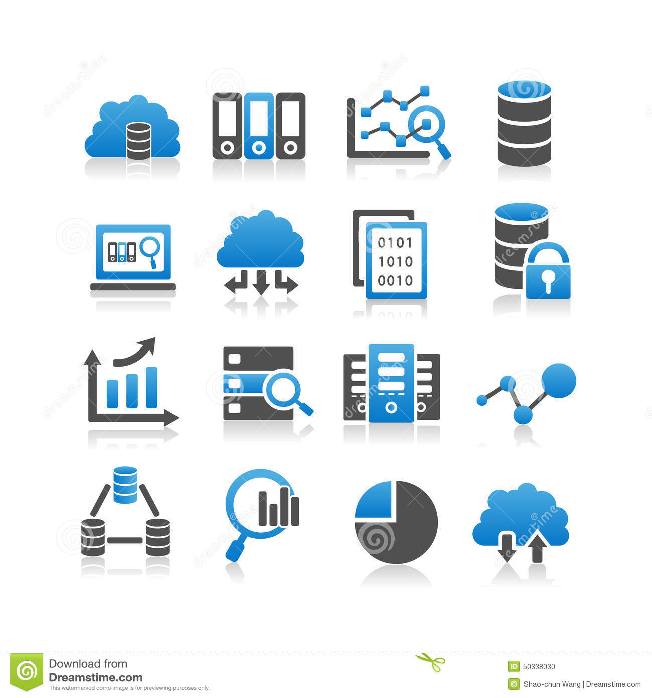Big Data Icon S... Computer Hardware Clipart