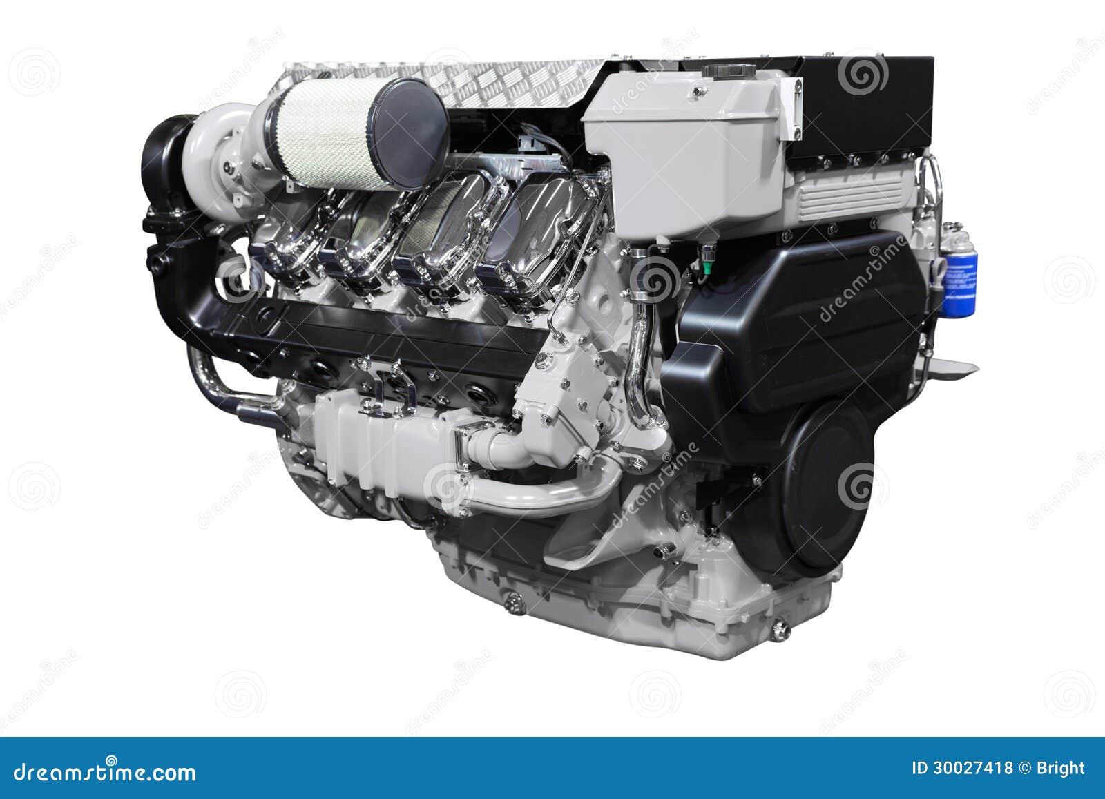 Diesel Engine stock photo  Image of metal, cylinder, boat - 30027418