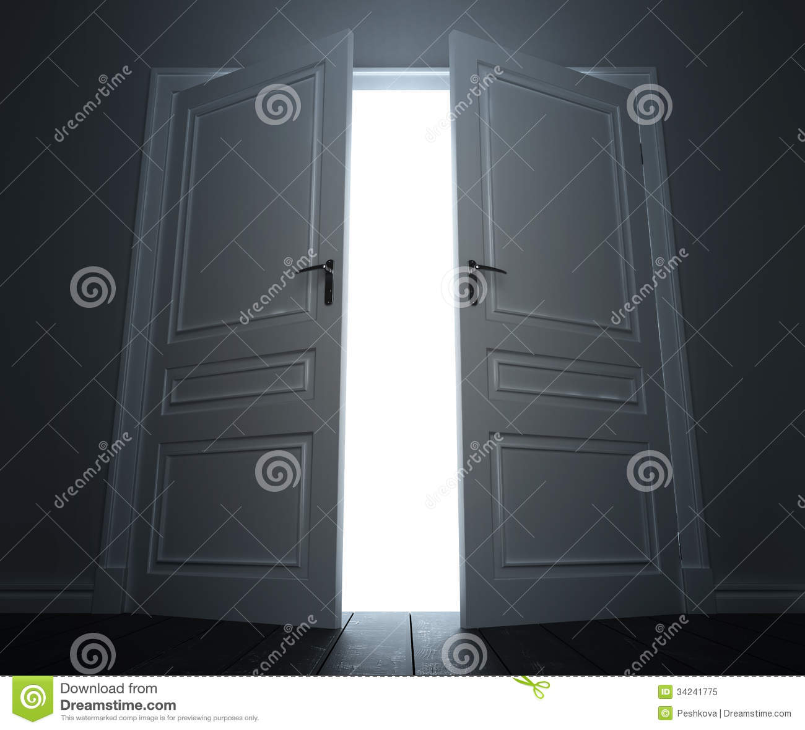 Big Door Royalty Free Stock Photo - Image: 34241775