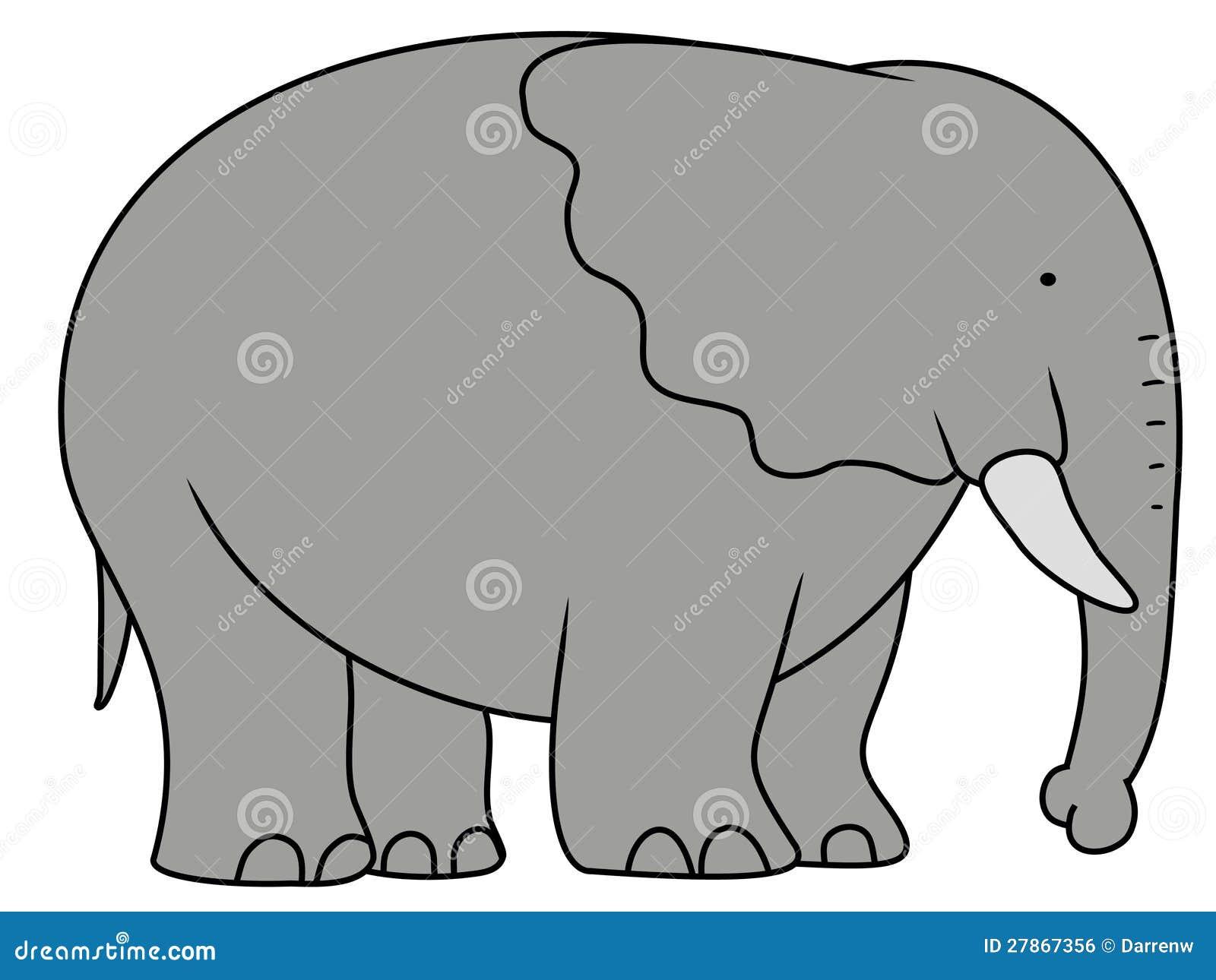 Big Elephant Royalty Free Stock Image Image 27867356