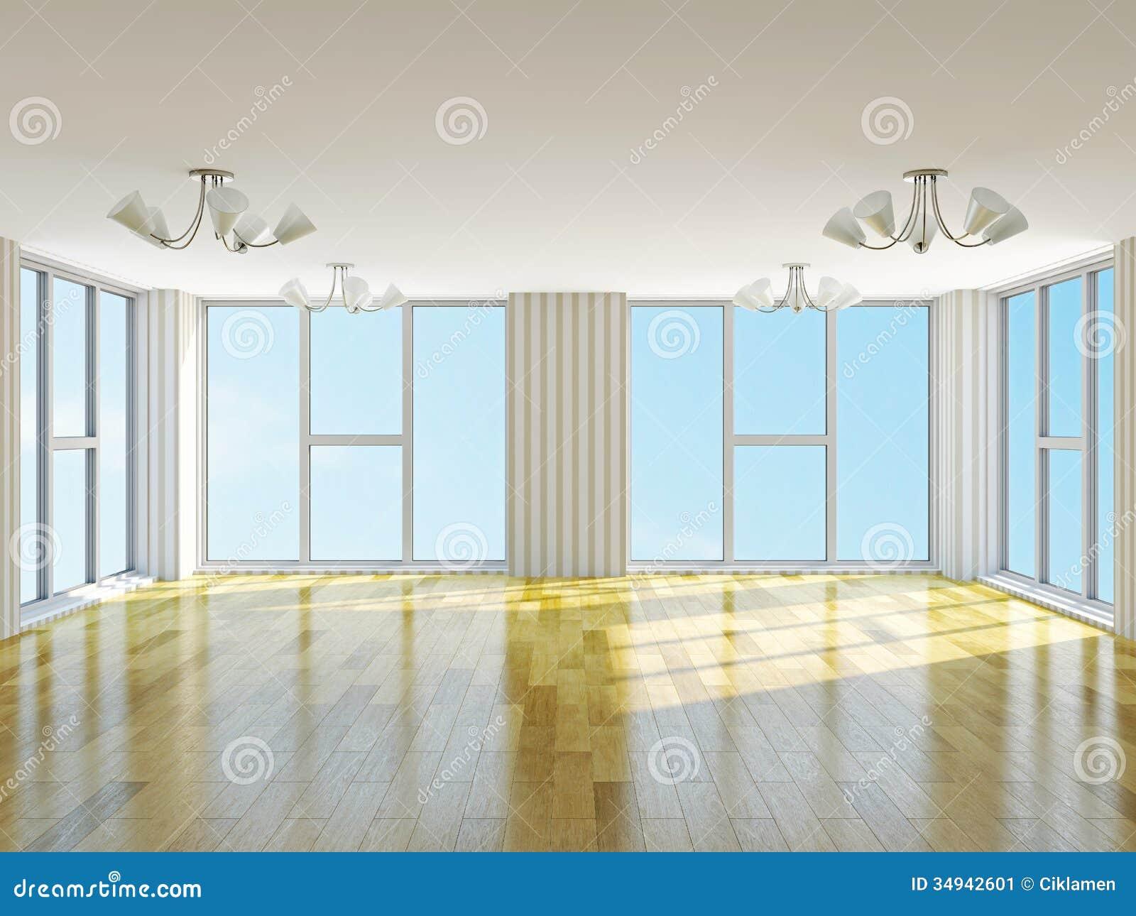 Big empty living room - The Big Empty Room