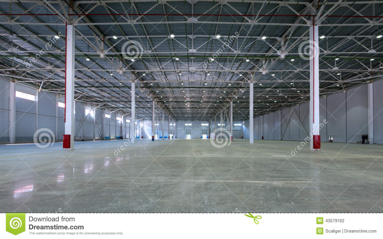 A Big Factory Warehouse Stock Photo Image Of Distribution