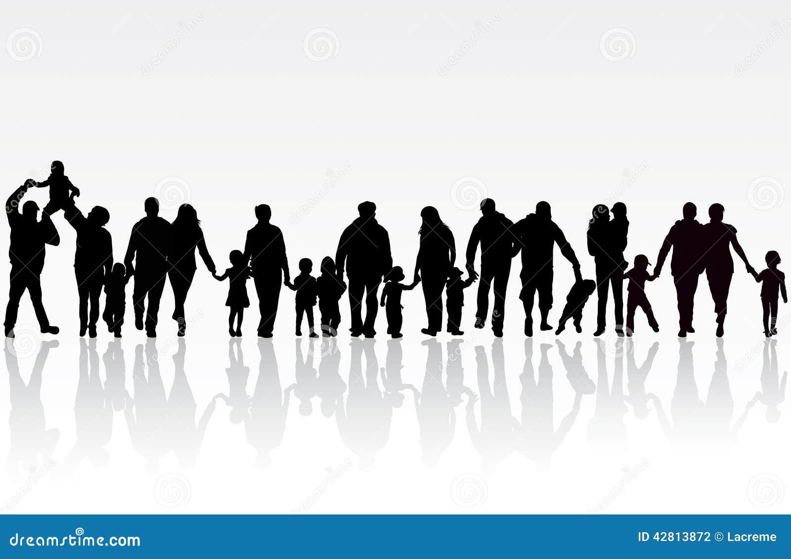 clipart big family - photo #45