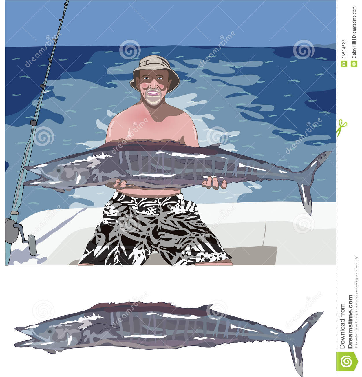 Big fish catch stock photography image 36534622 for Catching big fish