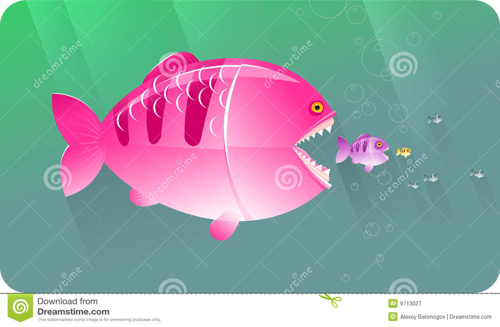 Big fish eat small fish concepts series royalty free for Big fish eat small fish