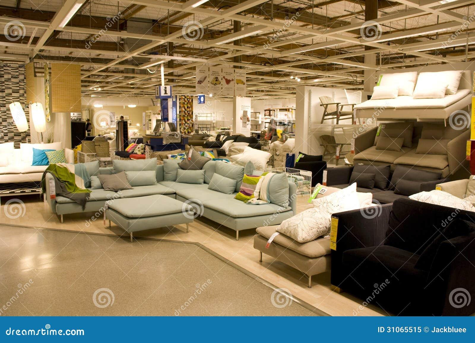 Big Furniture Store Editorial Image Image 31065515