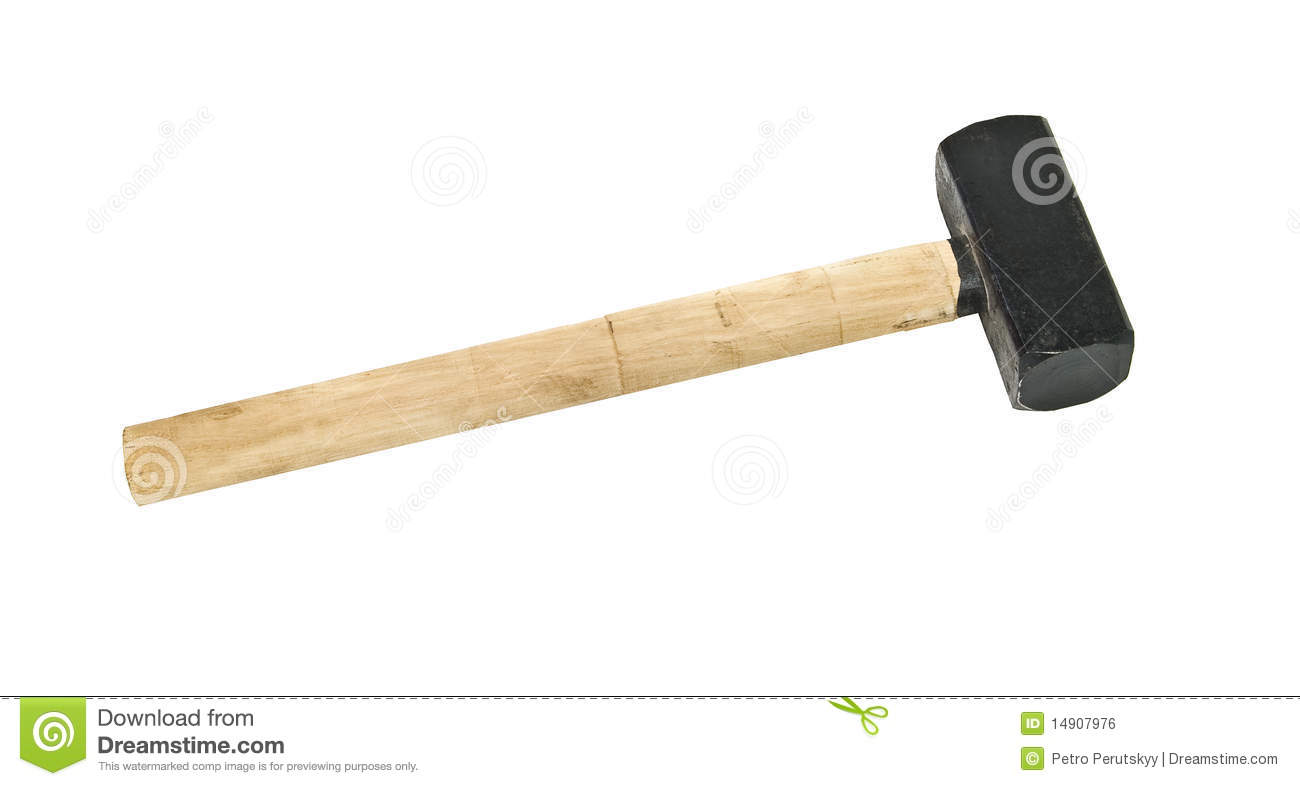 Big Hammer Royalty Free Stock Image - Image: 14907976