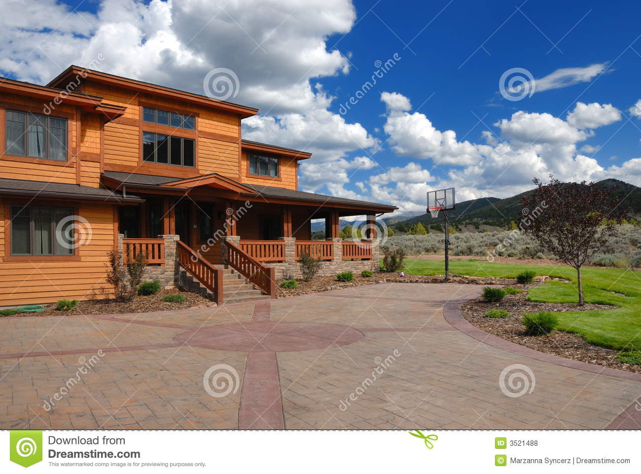 Big house in the country royalty free stock photos image for Big houses in the country