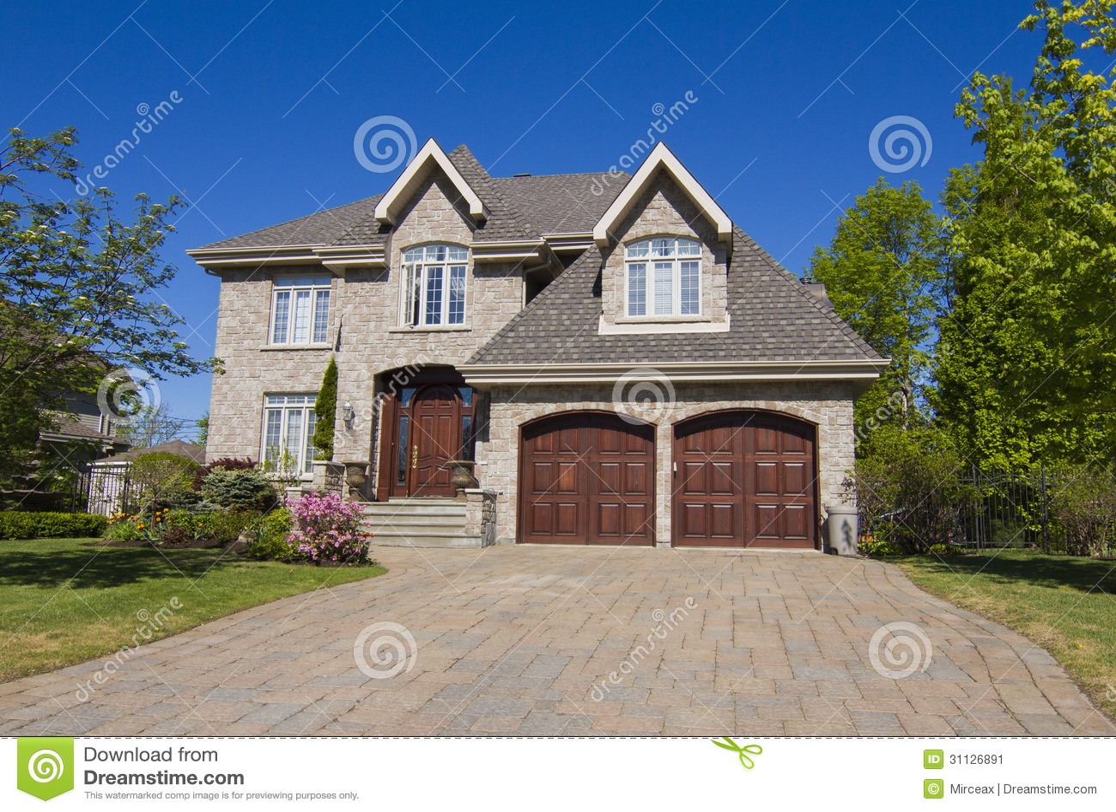 Stock image big house image 31126891 for New house big