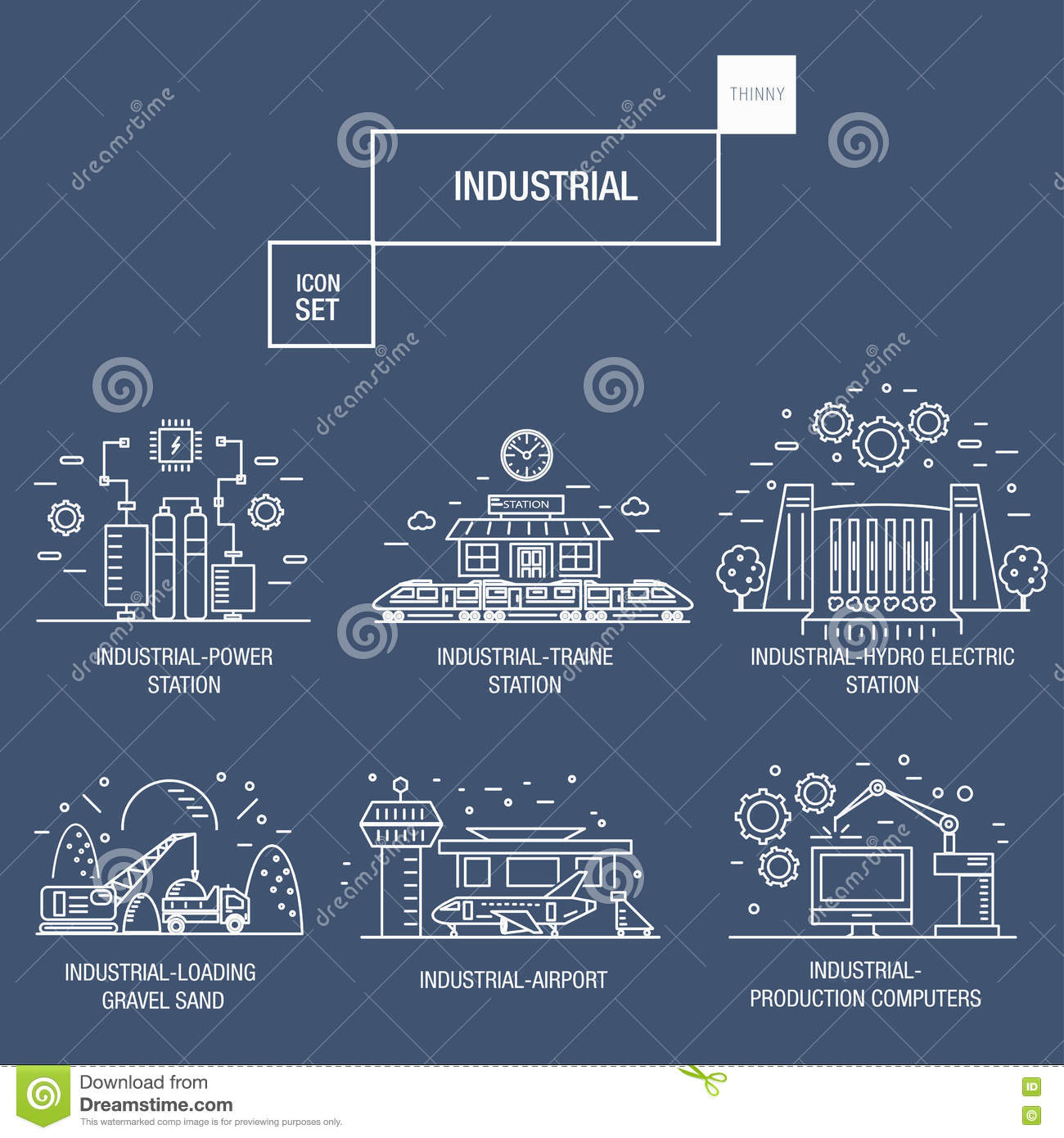 Big industrial icon set with design elements gas olive clean download big industrial icon set with design elements gas olive clean stock illustration publicscrutiny Gallery