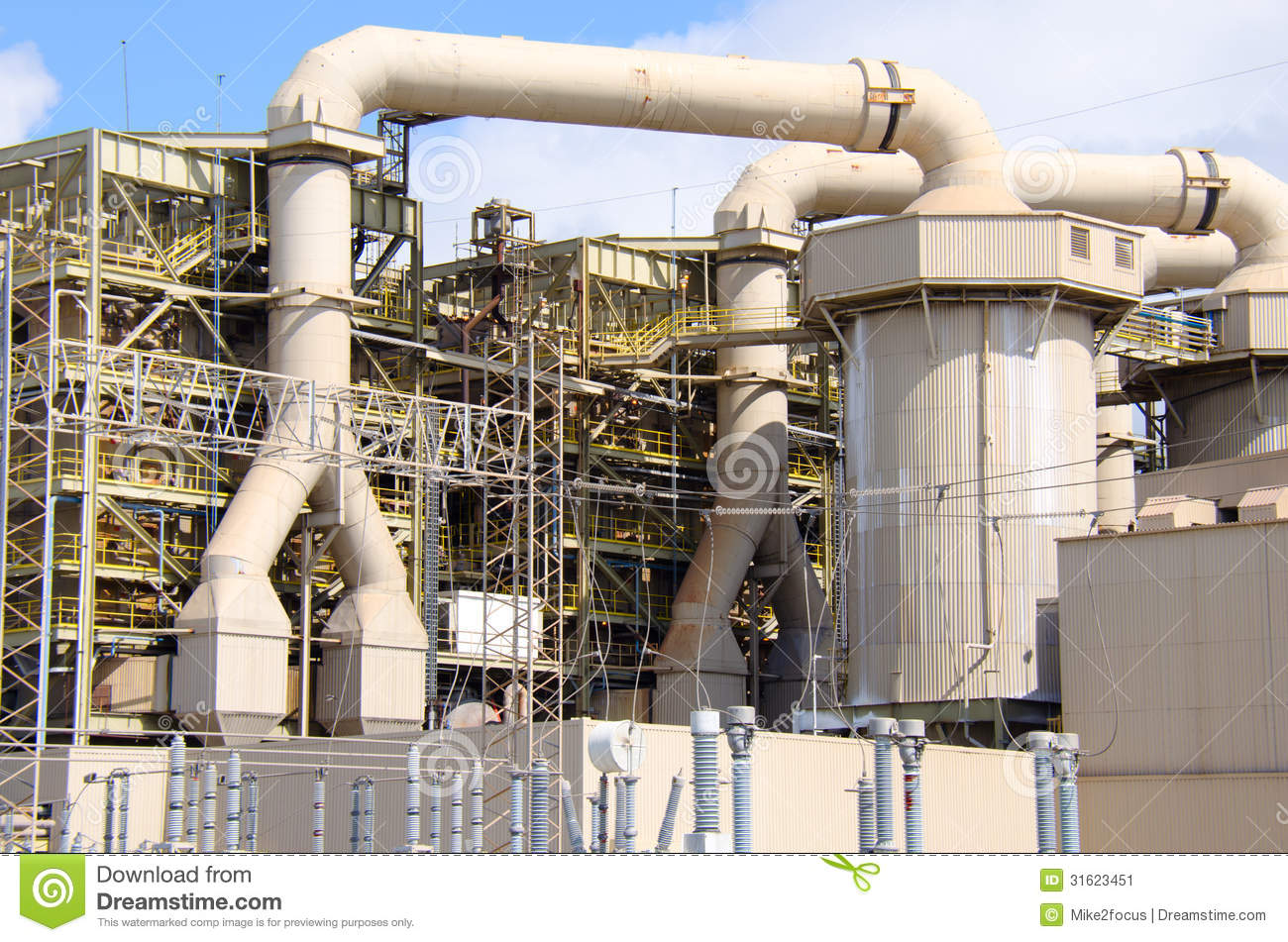 large industrial facility essay Business essays: comment on what is ge's source of competitive advantage in the large turbine industry.