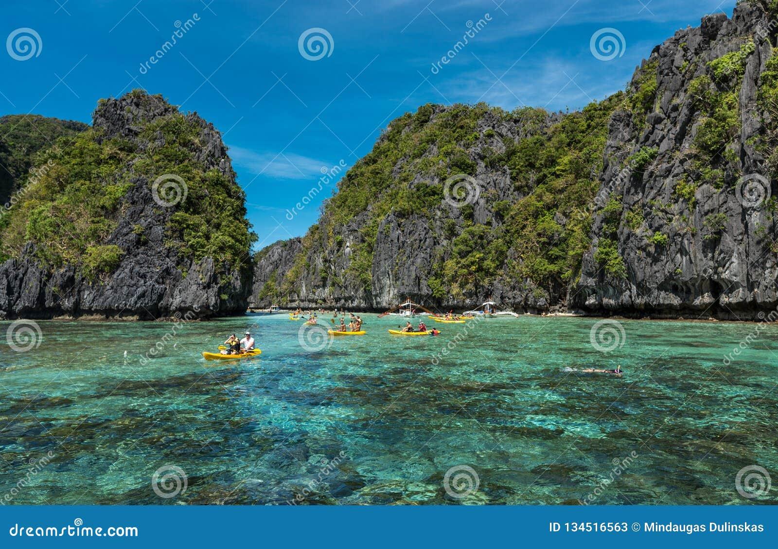 Big Lagoon In El Nido Palawan Sightseeing Place In