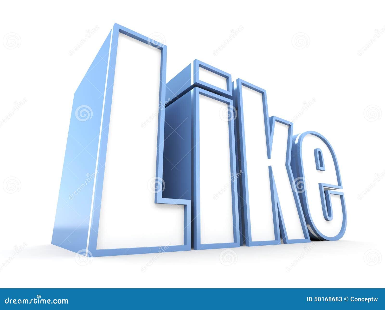 Big Like Stock Illustration Illustration Of Site Super 50168683