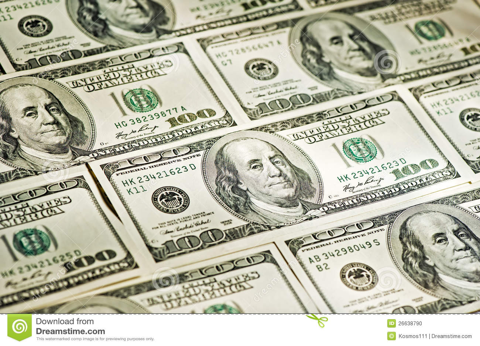 Big Money Closeup Stock Photo - Image: 26638790