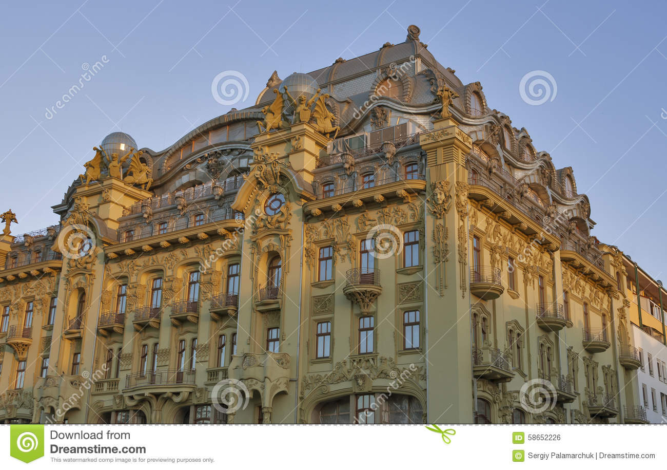big moscow hotel in odessa ukraine stock photo image of elements